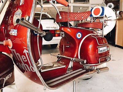 Italian 1965 Vintage Vespa 150 Super  2 Seater Scooter. Low Kms. All Documents