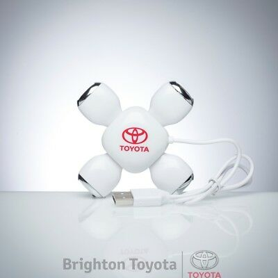 New Official Toyota Merchandise Toyota USB HUB  Part TMTOY036