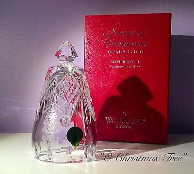 "Waterford Crystal ""Songs of Christmas"" Bells Collection"