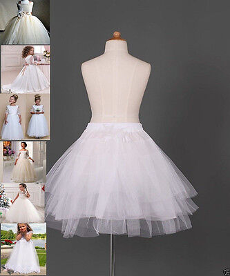 A+ Flower Girl dress Children Underskirt Wedding Crinoline Petticoat