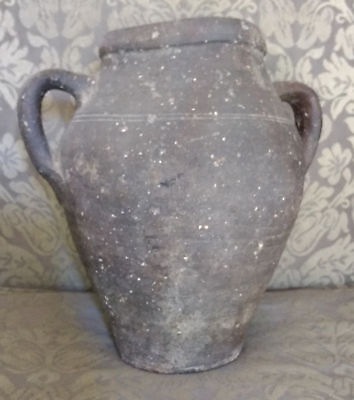 Native American Pottery Two-Handled Pot