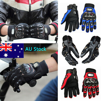 Men Women Full Finger Cycling Gloves Unisex Motorcycle Racing Windproof Gloves