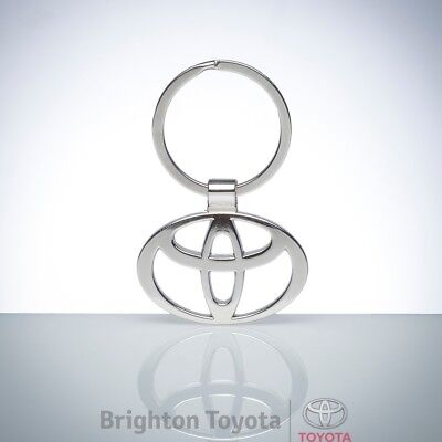 New Official Toyota Merchandise Toyota Keyring Logo emblem Part TMTOY015