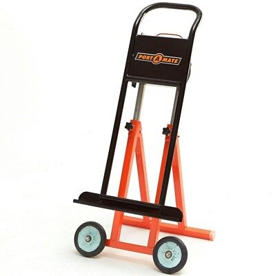 Hand Truck Utility Cart Plywood Drywall Sheets Panel Foldable Wheels Steel Dolly