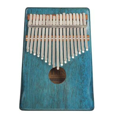 17 Notes Kalimba Thumb Piano for Kids Music Educational Toys Craft Blue