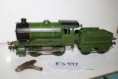 Hornby 1842 Loco And Tender With Key Very Nice One  Ks397