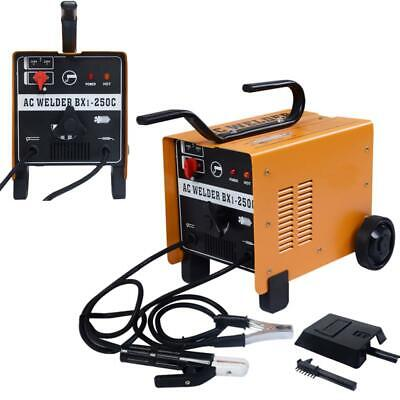 New 250 AMP Welder Flux Core AC Welding Machine Set 110/220V
