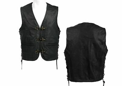 Lederweste Vintage Leather Vest Leder Weste Rockabilly Heritage Rugged Guys Wear