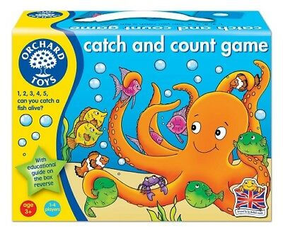 Orchard Toys Catch and Count Number Learning Game