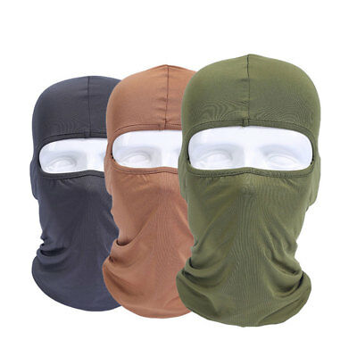 Warm Full Face Mask Balaclava Protection Bicycle Motorcycle Hats Lycra