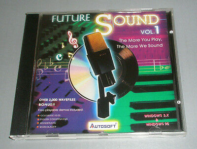 Future Sound Vol. 1 by Autosoft (Windows) - The More You Play, The More We Sound