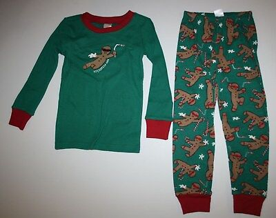 NEW Gymboree Holiday Pajamas Gymmies PJs 24M 3 4 5 6 7 8 10 Gingerbread oh snap