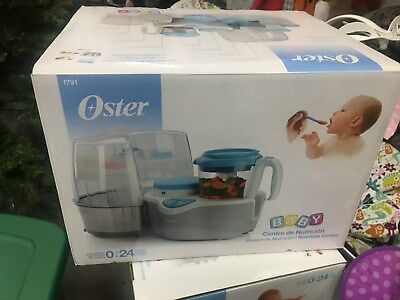 Oster 1791 Baby Nutrition Center 4 in 1 sterlizer warmer steamer processor