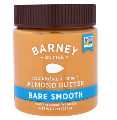 New Barney Butter Almond Bare Smooth Peanut & Gluten Free Health Food Daily Care
