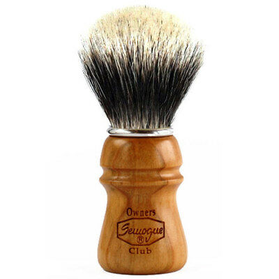 Semogue Owners Club 2 Band Badger Shaving Brush, Brand NEW, U.S. Seller