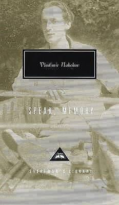 Speak, Memory, Nabokov, Vladimir