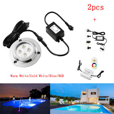 2pcs DC12V LED Underwater Light LED Outdoor Lighting for Swimming LED Pool Light