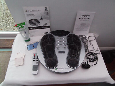 High Tech Health Circulation Booster With Remote Manual Pads & Foot Leg Gel