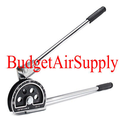 "Manual Tube Pipe Bender Tool for 7/8""OD HVAC SOFT COPPER Steel Refrigerant Tube"