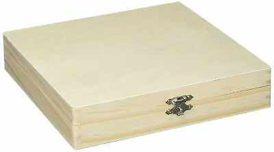 Unfinished Wood Cigar Box Wooden Boxes Sanded Smooth Pine Woods Cigars Storage