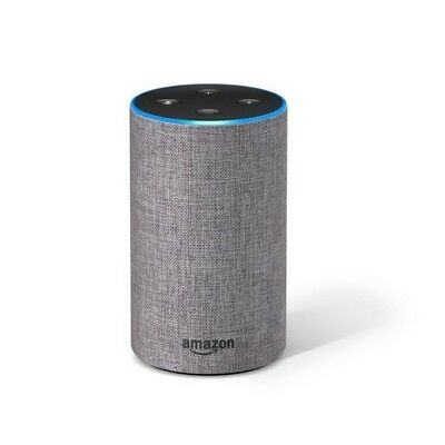 New Amazon Echo (2nd Generation) Digital Media Streamer - Heather Gray Fabric