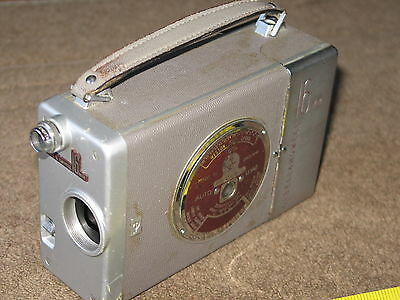 Vintage G.B. Bell & Howell 16mm Movie Camera, Made in England