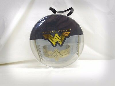 Wonder Woman Movie Cuff and Tiara Cosplay Set DC