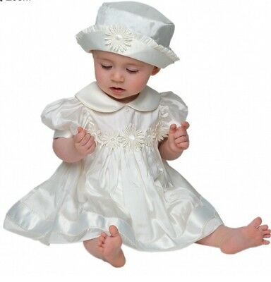 BNWT Girls 'Daisy' Christening Set By Little Darlings BS4236 (6 Mths) RRP £105