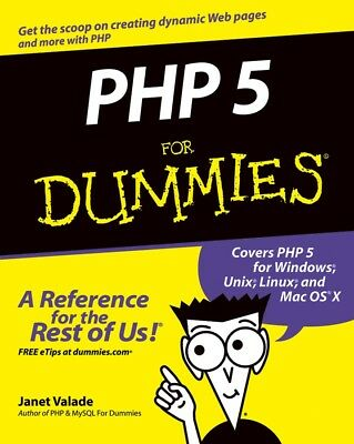 PHP 5 for Dummies, Valade, Janet