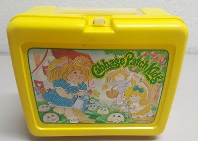 Vintage Thermos Plastic Lunchbox Cabbage Patch Kids no thermos