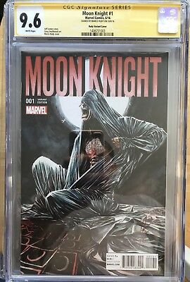 Moonknight #1 Marco Rudy Variant CGC SS 9.6 Signed by Marco Rudy