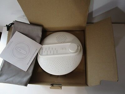 Homasy Sound Therapy White Noise Sound Machine,1 USB Cable Included, Brand new!