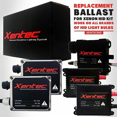 Two Xentec Xenon Lamp HID Kit 's Replacement Ballasts 35W 55W H4 H7 H11 9006 H13