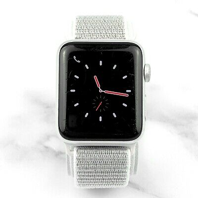 Apple Watch Series 3 42mm Silver Aluminium Case with Silver Loop GPS + Cellular