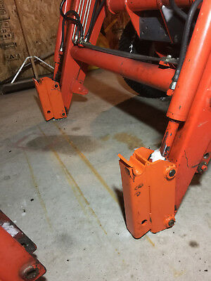 TRACTOR QUICK ATTACH system or quick release system