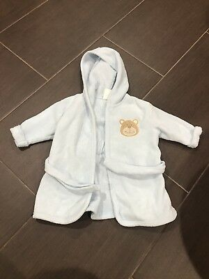 Luvable Friends Baby Boy Blue Robe Small 0-9 Months NWOT