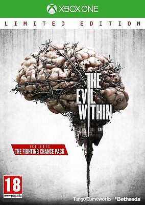 The Evil Within Limited Edition Xbox One Brand New And Sealed