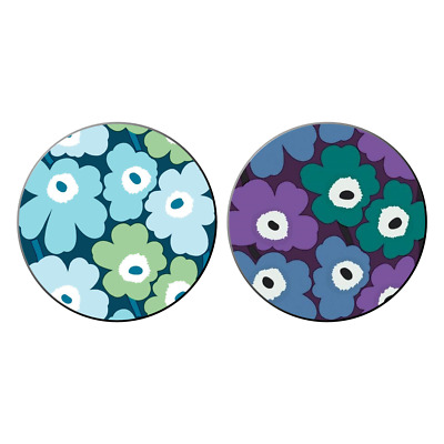 2x Marimekko Unikko Pocket Hand Mirrors Art Patterns Flower t Shirt NEW