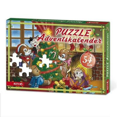 puzzle adventskalender f r kinder von roth eur 9 50. Black Bedroom Furniture Sets. Home Design Ideas