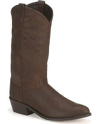 Old West Western Boot in Distressed Leather - SCM3051