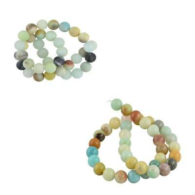 Wholesale 10mm Natural Charm Gemstone Loose Spacer Beads 15'' Strand Findings