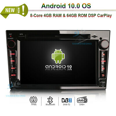 android8 0 autoradio doppel din nav dab gps f r opel. Black Bedroom Furniture Sets. Home Design Ideas