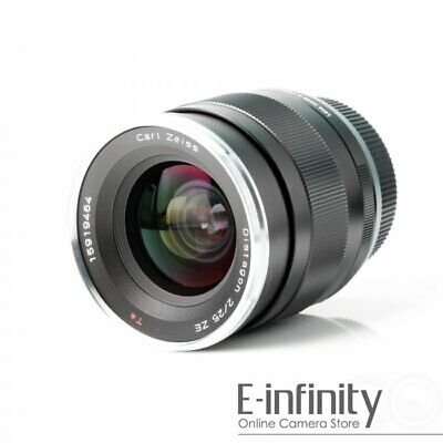 BRAND NEW Carl Zeiss Distagon T* 25mm f/2 Lens For Canon ZE 2/25 EXPRESS