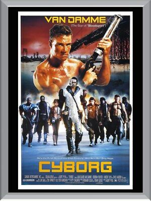 Cyborg Jean Claude Van Damme A1 To A4 Size Poster Prints