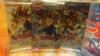 YuGiOh Booster Invasion Of Chaos + Legacy Of Darkness + Ancient Sanctuary, OVP