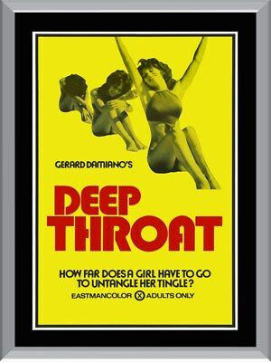Deep Throat A1 To A4 Size Poster Prints