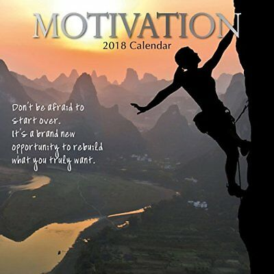 2018 Motivation Calendar by The Gifted Inspirational Photography Quotes Goals