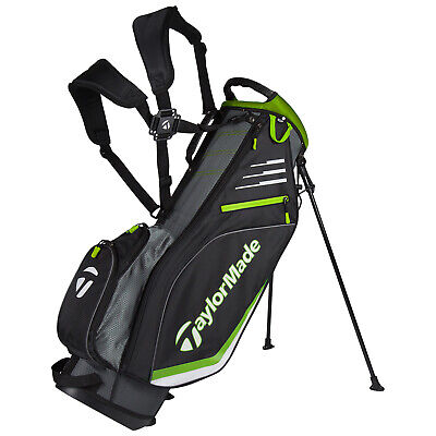 TaylorMade Mens Lightweight Stand Bag - New Lite Carry Dual Strap Golf
