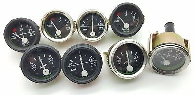 2'' 52MM CAR /WATER/OIL TEMP/PRESSURE/VOLT/AMMETER/FUEL LEVEL Pointer GAUGE