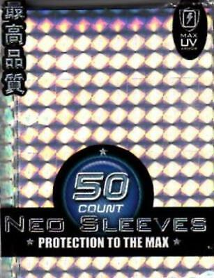 Max Protection Card Protectio Neo Sleeves - Spiral Silver (10 Packs of 50 MINT